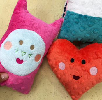 softie class at the sewing coop