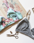 crossover bralette sewing class at the sewing coop