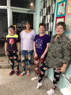 easy leggings sewing class at the sewing coop