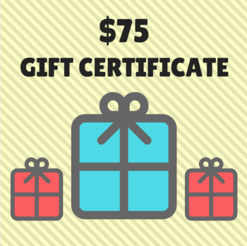 gift certificate to the sewing coop