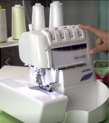 serger intro class at the sewing coop
