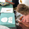 kids critter applique pillow class at the sewing coop